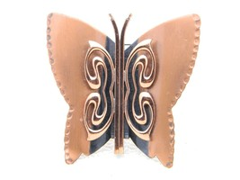 VTG Matisse RENOIR Signed Copper Butterfly Brooch Pin - $49.50