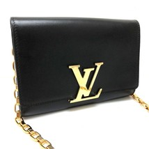 AUTHENTIC LOUIS VUITTON Chain Wallet Louise MM Shoulder Bag WOC M94335 - $1,930.00