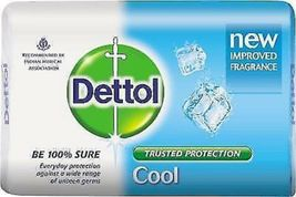 DETTOL COOL SOAP GIVES PROTECTION FROM UNSEEN GERMS 75 GM X 3 pack* image 6