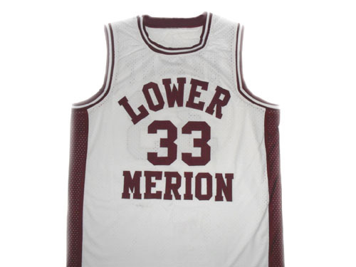 Kobe Bryant #33 Lower Merion High School Basketball Jersey White Any Size
