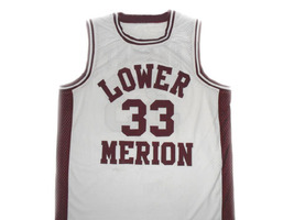 Kobe Bryant #33 Lower Merion High School Basketball Jersey White Any Size image 1
