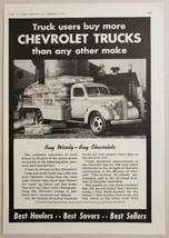 1940 Print Ad Chevrolet Farm Flat Bed Trucks Farmers Load Chickens - $15.13