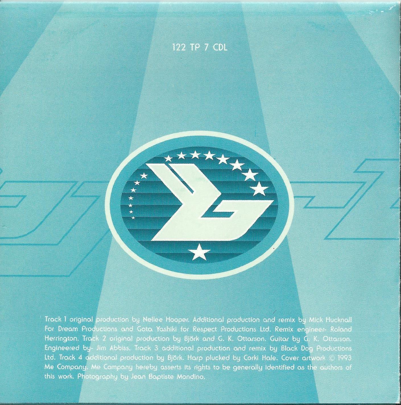 BJORK - VENUS AS A BOY 1993 UK 4 TRACK CD SINGLE 122TP7CDL