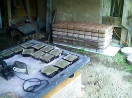 "DIY Kit Driveway Paver Molds (18) 6x6x2.5"" Make 1000s Pavers For Pennies #P-0662 image 4"