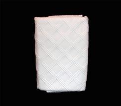 2 Ralph Lauren White Georgica Garden Lattice Mattelese STRD Shams NIP MS... - $79.99