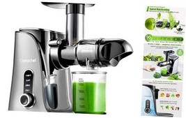 Juicer Machines, Slow Masticating Juicer Extractor, Cold Press Juicer wi... - $141.12