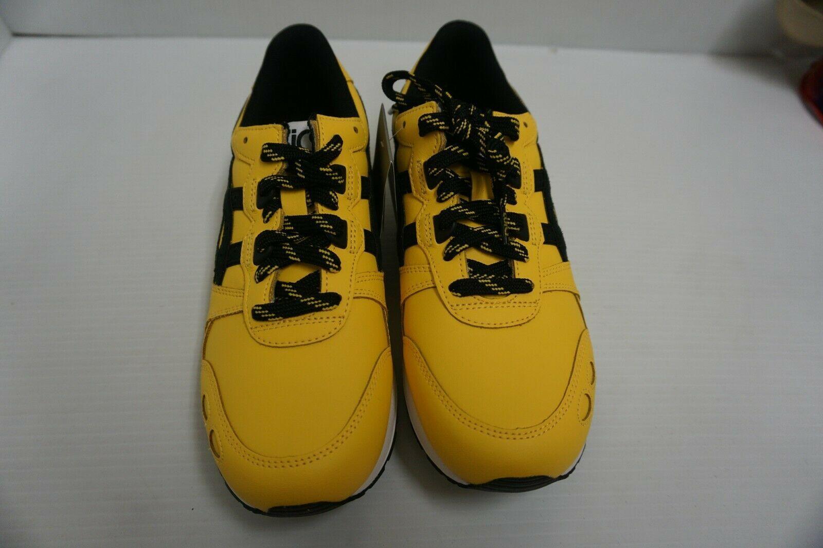 71e255f6ff Asics Hommes Gel Lyte Tai Chi Noir Jaune Chaussures Course Size 7.5 Us
