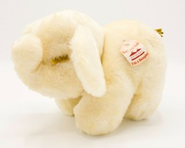 "Vtg 1979 Animal Fair 11"" Yellow Sleeping Elephant Plush WITH TAG # 4042 ... - $59.95"