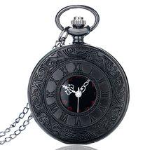 Unique Vintage Charm Black Fashion Roman Number Quartz Gift for Christma... - $15.99