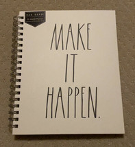 NEW Rae Dunn Now - 2021 MAKE IT HAPPEN 12 Month Spiral Bound Yearly Planner - $14.89