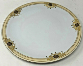 """Winterling Bavaria Germany China Dish Plate Platter Round 12.5"""" Wide Gold 3655 - $36.05"""