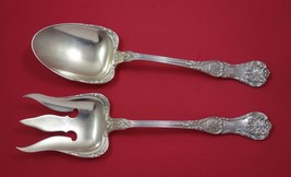 "King George by Gorham Sterling Silver Salad Serving Set 2pc All Sterling 10 1/2"" - $559.00"