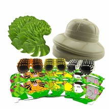 Ultimate JUNGLE BUNDLE Safari Birthday Party Decoration Pack Favors Kit ... - $117.80