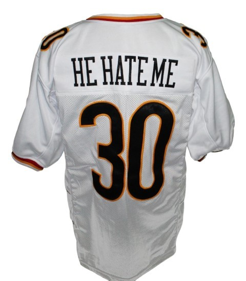He hate me  30 rod smart new men football jersey white 2