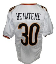 He hate me  30 rod smart new men football jersey white 2 thumb200