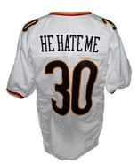 He hate me  30 rod smart new men football jersey white 2 thumbtall