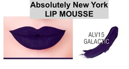 ABSOLUTE NEW YORK LIP MOUSSE FULL COVERAGE LIP CREAM  COLOR: GALACTIC - $4.29