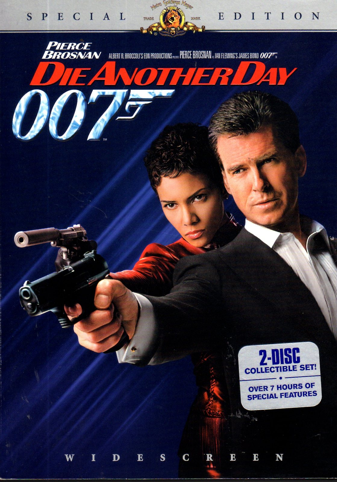 DVD - Die Another Day - James Bond - 007 - Pierce Brosnan, H. Berry - 2 disc set