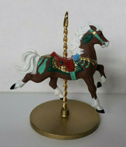 "1989 Hallmark Keepsake Ornament  ""Star"" Carousel Horse Series In Box U19 - $12.99"
