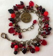 Zodiac Aries Beaded Charm Bracelet - $24.00