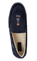 Polo Ralph Lauren Memory Foam Polo Bear Slippers New In Box Size 10 Navy - $97.02