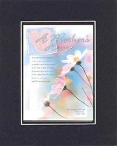 Poems for Mother's Day - A Mother's Heart A mother's hands are gentle as... - $11.14