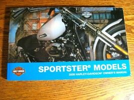2009 Harley-Davidson Sportster Owner's Owners Manual XL883 XL1200 Xlnt! - $58.41