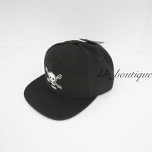 NWT Vans Anaheim Skulls Unisex Snapback Adjustable Baseball Hat Cap Blac... - $19.95