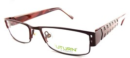 U-Turn by Marchon Rx Eyeglasses 2-in-1 Frames 116 611 Brick Tread 52-17-140 - $15.56
