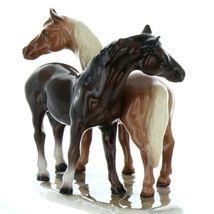 Hagen Renaker Specialty Horse Best Friends Grooming Ceramic Figurine image 10