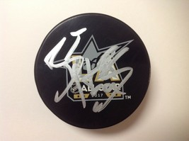Braden Holtby Signed Autographed 2017 NHL All Star Hockey Puck Go Capitals a - $44.54