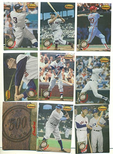 1994 Ted Williams Card Co.500 HR Club with Ruth Williams Mantle Aaron + Rare Set