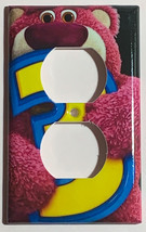 Toy Story Lotso Huggin Bear Light Switch Outlet wall Cover Plate Home Decor image 2