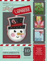 Anita Goodesign Express Padded Christmas Ornaments Embroidery CD (CD ONLY) - $15.83