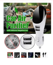 Car Air Purifer and Charger - $24.00