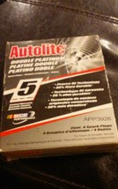 Pack of 4 Autolite Double Platinum APP3926 Spark Plugs