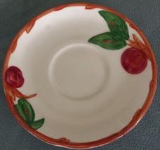 Beautiful Vintage Franciscan Apple Pattern Saucer - American California ... - $5.93