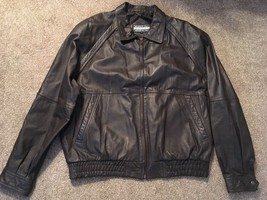 Mens Members Only Genuine Leather Jacket, Size: 2X - $47.99