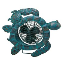 DecoBreeze Sea Turtle Figurine Fan - DBF5420 - $99.99