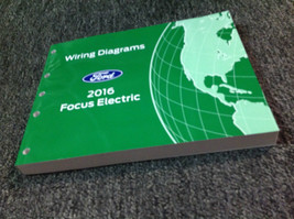 2016 Ford Focus Elektrisch Elektrisch Wiring Manuell OEM Fabrik - $89.09