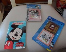 Disney Mickey Mouse - Spiral Journal, color book w/ stickers, stickey notes - $10.50