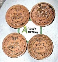 Indian Head Penny 1905, 1906, 1907, and 1908 AA20-CNP2145 Antique image 2