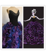 Custom-made Ursula Dress, Ursula Costume, Ursula Cosplay Costume - $189.00