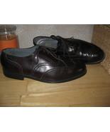 Mens 12 NUNN BUSH Brn Genuine Leather WING TIP Oxfords Shoes HANDSOME & ... - $16.76