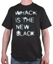 Dissizit Slick Compton USA La Whack È Nero Nuovo Uomo T-Shirt Nwt