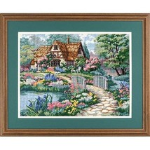 Dimensions Cottage Retreat Needlepoint Kit, 16'' W x 10'' H - $23.99