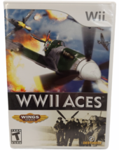 WWII Aces Wing Series (Nintendo Wii) Video Game Complete - Free Shipping! - $7.91