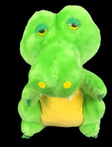 "Vintage 1981 Dakin Green Stuffed Animal Dinosaur 11"" Plush - $39.59"