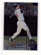 1999 Topps Finest #30 Troy Glaus Anaheim Angels Collectible Baseball Card - $0.99