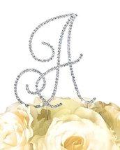 Renaissance Monogram Wedding Cake Topper Large Letter A … - $19.55